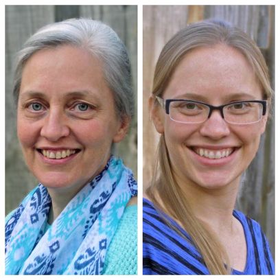 Anna Lindberg and Sheila Wyatt